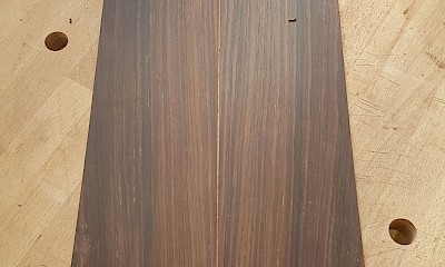 indian rosewood sides hand scraped to final thickness